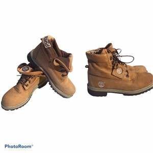 Timberland Roll-Top Boots Women 6/Kids 4